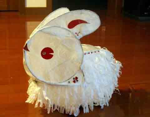 传统手工兔子灯 [ 制作方法组图 ]